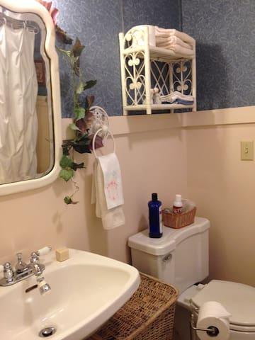 Alice room bathroom