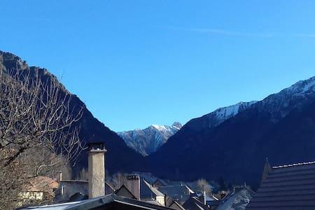 3 pièces dans maison à la montagne avec balcon - Saint-Firmin