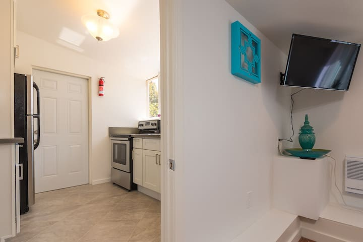 Access to a full kitchen. Conveniently located next to your room.