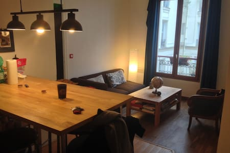 Lovely flat, cosy and parisian, ideal for couples - Paris - Apartment