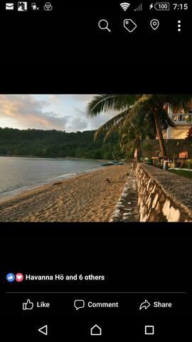 Beach Front Room facing Isla Verde
