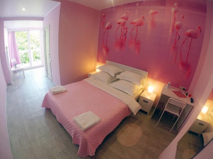 Гостевой дом МиЯ - Розовый и Вишнёвый