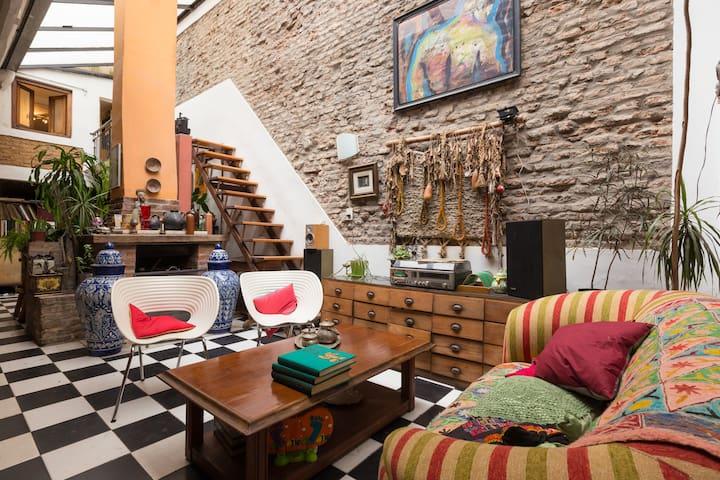 Casa de artistas, luz y calidez. - Buenos Aires - Domek gościnny