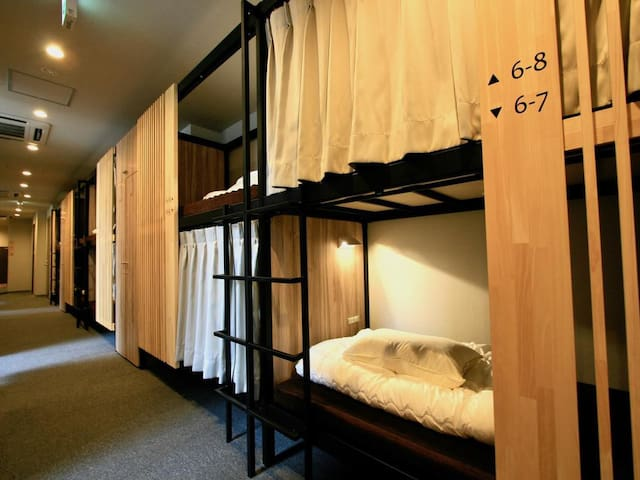 QooHostel Osaka  Beds in Mixed Dormitory(26Adults)