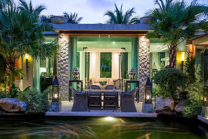 4 bedroom Villa Surin Beach with private waterfall