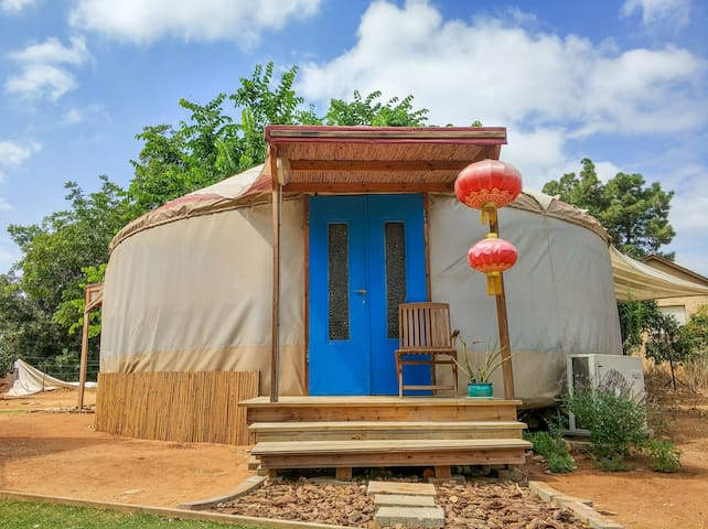 Charming quiet YURT close to Caesarea beach
