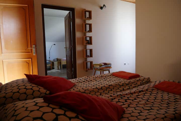 Private room in lovely family house near Balaton