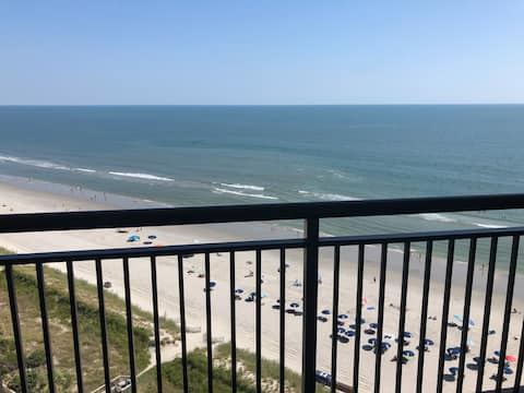 Direct Beach Front Penthouse Newly Remodeled