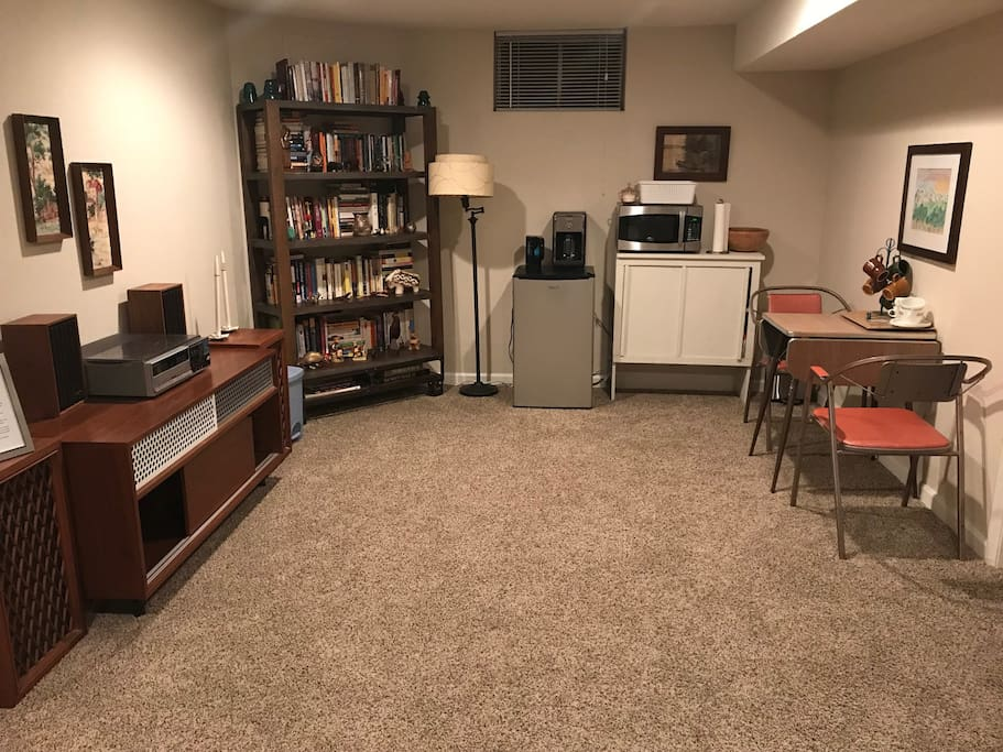 Other half of living area