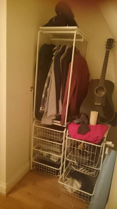 Closet Space (Now converted to Double Wardrobe)