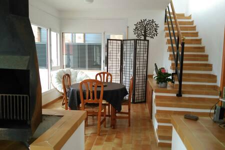 CCIII/ 3 Habitaciones dobles para 6 casa espaciosa - Sant Antoni de Calonge