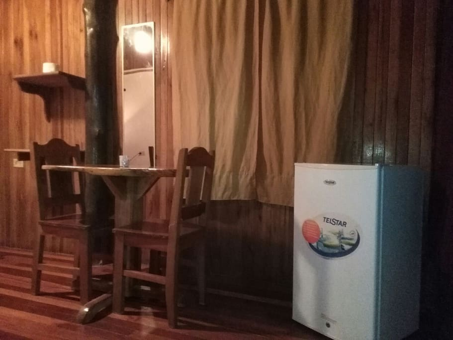 Private Room with Fridge, WI FI