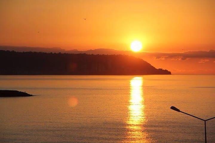 Sürmene'de denize karşı süper daire - Trabzon - Apartemen