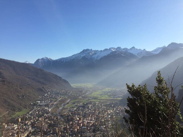 Missing in the Italian Alps - Chiavenna