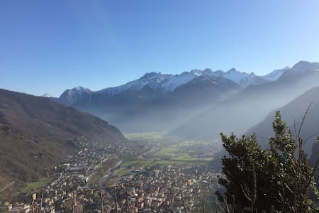 Missing in the Italian Alps - Chiavenna - Cabin