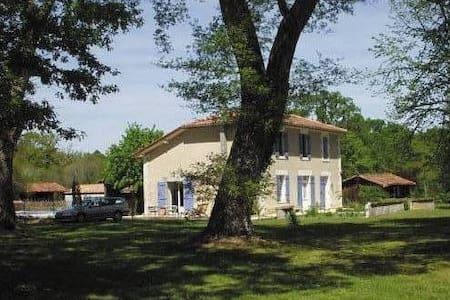 Maison avec piscine dans les landes - Luxey - Haus