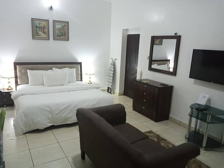 Spacious Studio Apartment at Gudu, Abuja