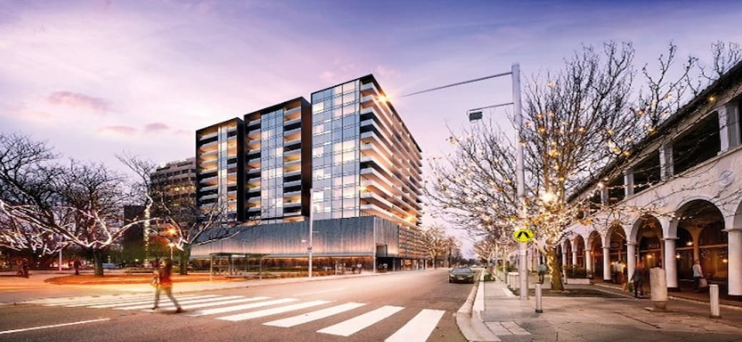 Canberra Centre Luxury Two Bedrooms Apartment - Canberra - Byt