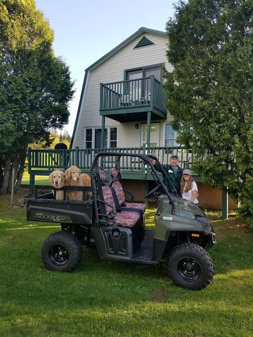 Direct Access to the ATV trails