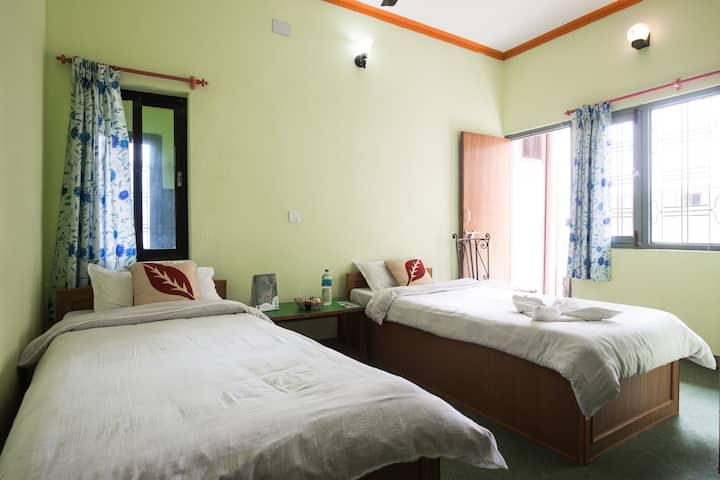 Cosy room at Bishnu Homestay