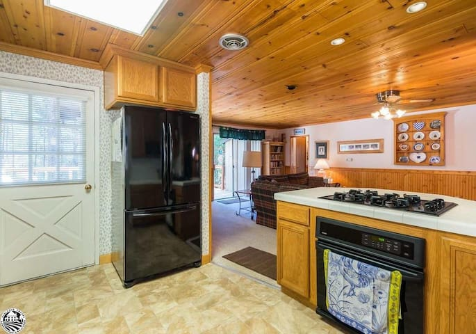 Kitchen Opens Into Main Living Space