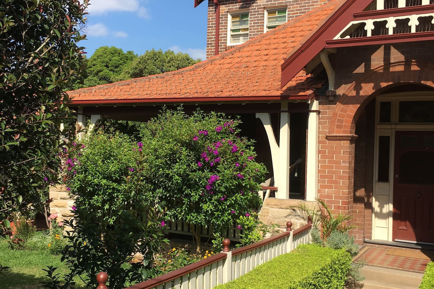 Federation period home with lovely garden