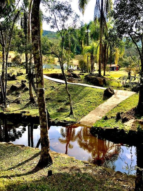 Sítio Natureza Trilhas Refugio - Embu Guaçu SP