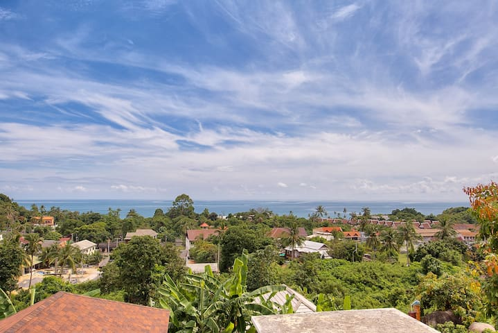 4 Bedroom Hilltop Retreat in Lamai - Ko Samui - Villa