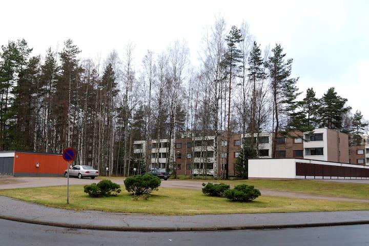 Kirkkari  Suite Hyvinkää keskusta - 90m2  1-8 hlöä