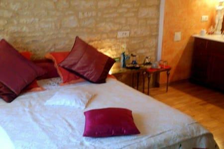 Gîte 2 à 4p en Périgord Noir - Cazoulès - บ้าน