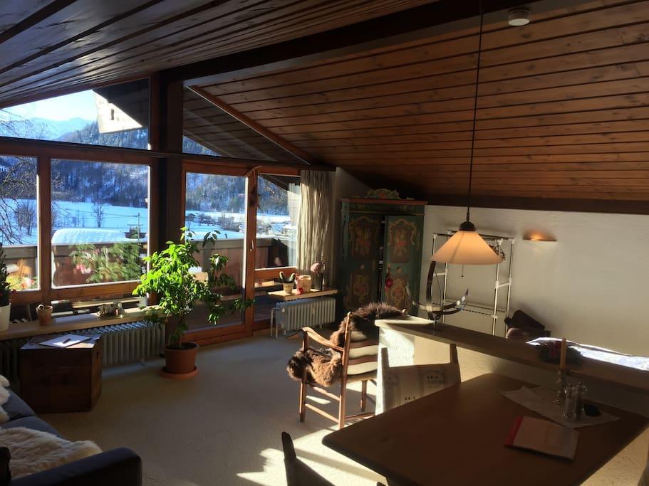 Gem tliches appartement unterm dach apartments for rent for Wohn und esszimmer 30m2