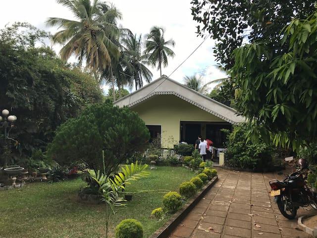 Lanka auntie's house