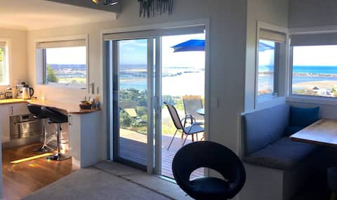 Sea views,  self-contained flat. Christchurch