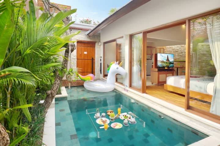 """""""80% off"""" 1 bedroom private pool & jacuzzi, Chic"""