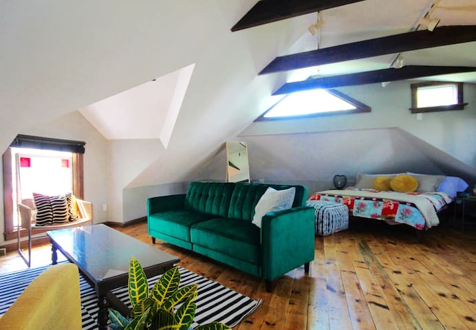 Character Filled Converted Carriage House