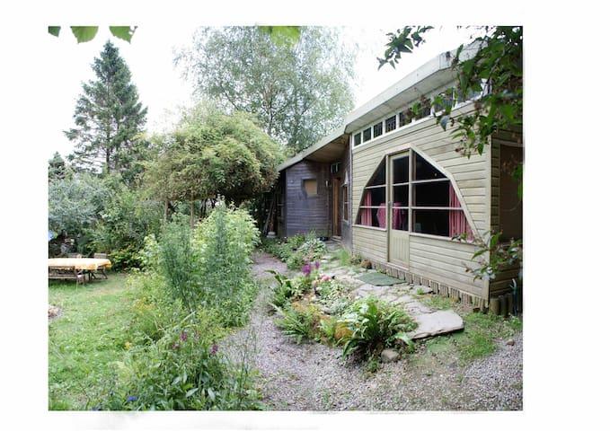 Cosy room in rural haven nr Totnes - Dartington, Totnes - スイス式シャレー