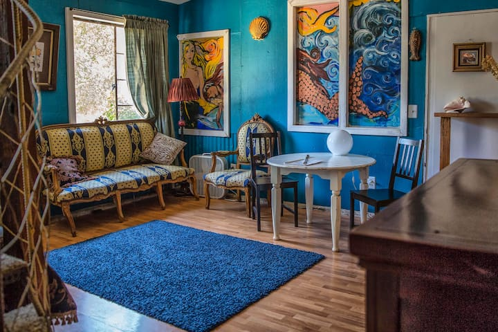 Artistic Topanga Mermaid Suite  - Topanga Canyon - Íbúð
