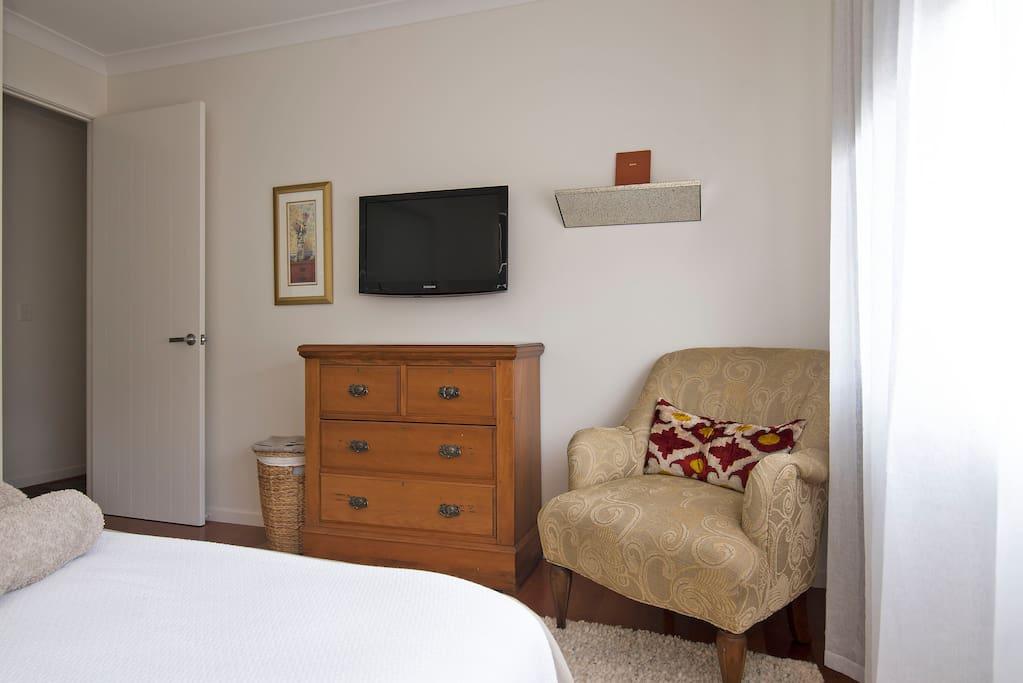 TV in room.