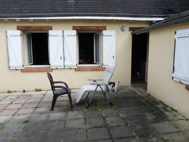 chambre privée - Blois - Maison