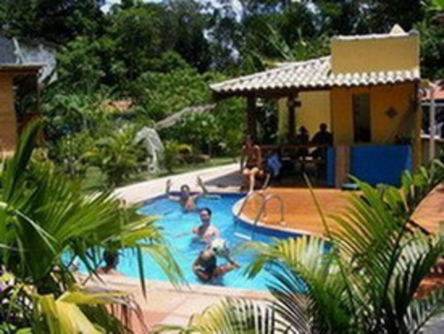 Apart hotel in beach village