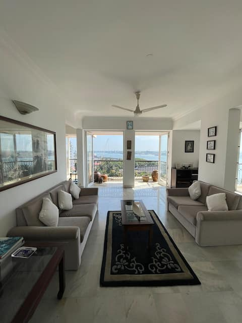 Fully furnished 2BHK Sea view  Prime location