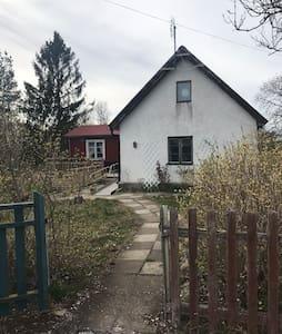 Litet hus på Fårö