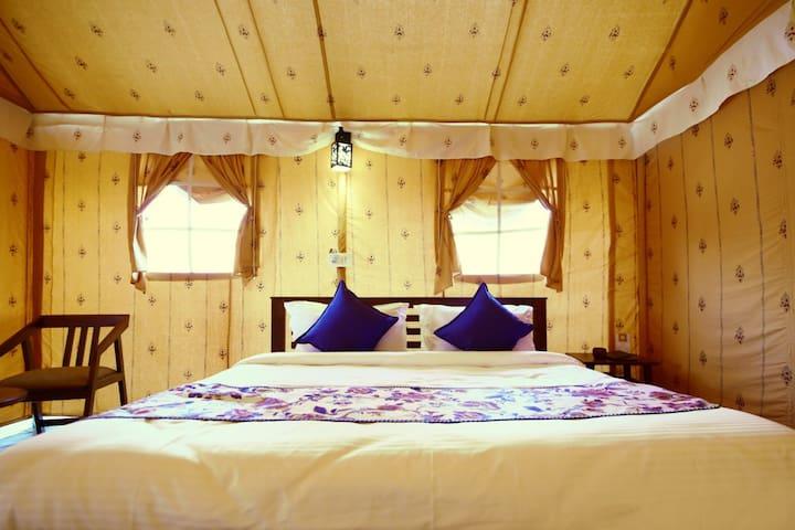 Swiss Delux AC Tents at Rawai Luxury Tents Pushkar Rajasthan