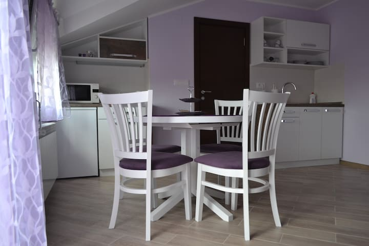 Fine Living 122 (Purple apartment)