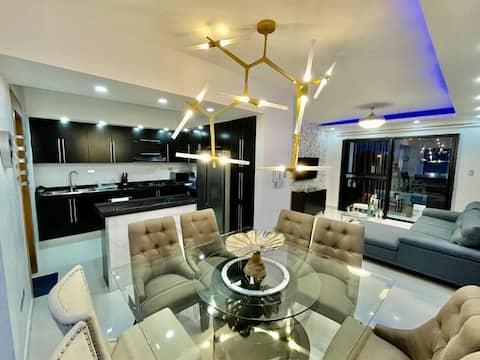 Modern Luxury Apartment Gomez I, AC/Parking/Wifi..