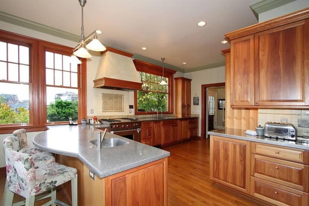 Luxury Gourmet Kitchen