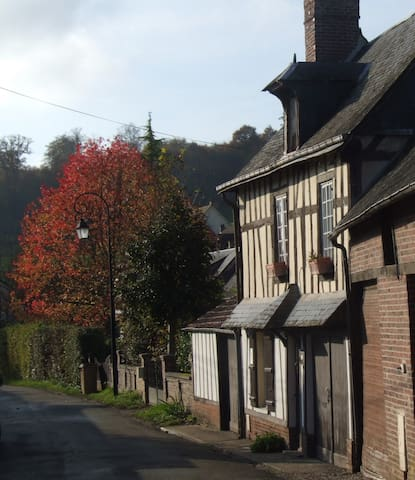 Les Hirondelles, charmante maison avec jardin - Lyons-la-Forêt - Casa