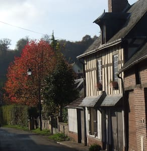 Les Hirondelles, charmante maison avec jardin - Lyons-la-Forêt - Ház