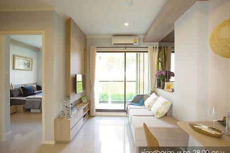 Seaview30sqm,TV, Microwave,refrigerator,Car park.. - Tambon Cha-am - Lyxvåning