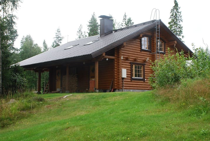 Large cottage with 3 sleeping rooms - Enonkoski - Cabaña